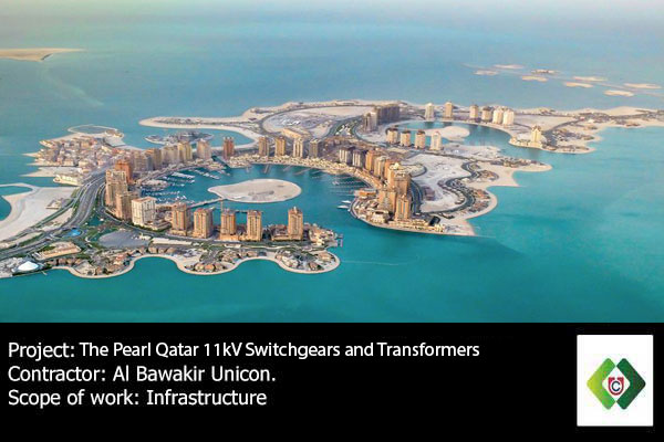 Al Bawakir Unicon had been awarded supplie and installation of 11kV Switchgears and Transformers at The Pearl Qatar